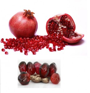 Pomegranate with Seeds2